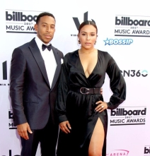 Ludacris and Eudoxie Mbouguiengue attending the 2017 Billboard Music Awards at T-Mobile Arena in Las Vegas, Nevada. Featuring: Ludacris, Eudoxie Mbouguiengue Where: Las Vegas, Nevada, United States When: 21 May 2017 Credit: DJDM/WENN.com
